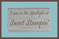 Sweet Stampin' Spotlight