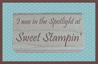 Sweet Stampin' Spotlight