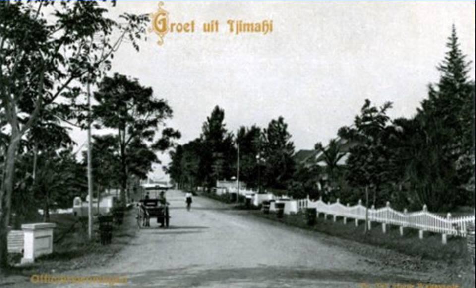 Gedong Ampat weg 1920