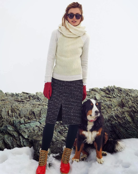 Über Chic for Cheap Inspired J Crew Winter Boots