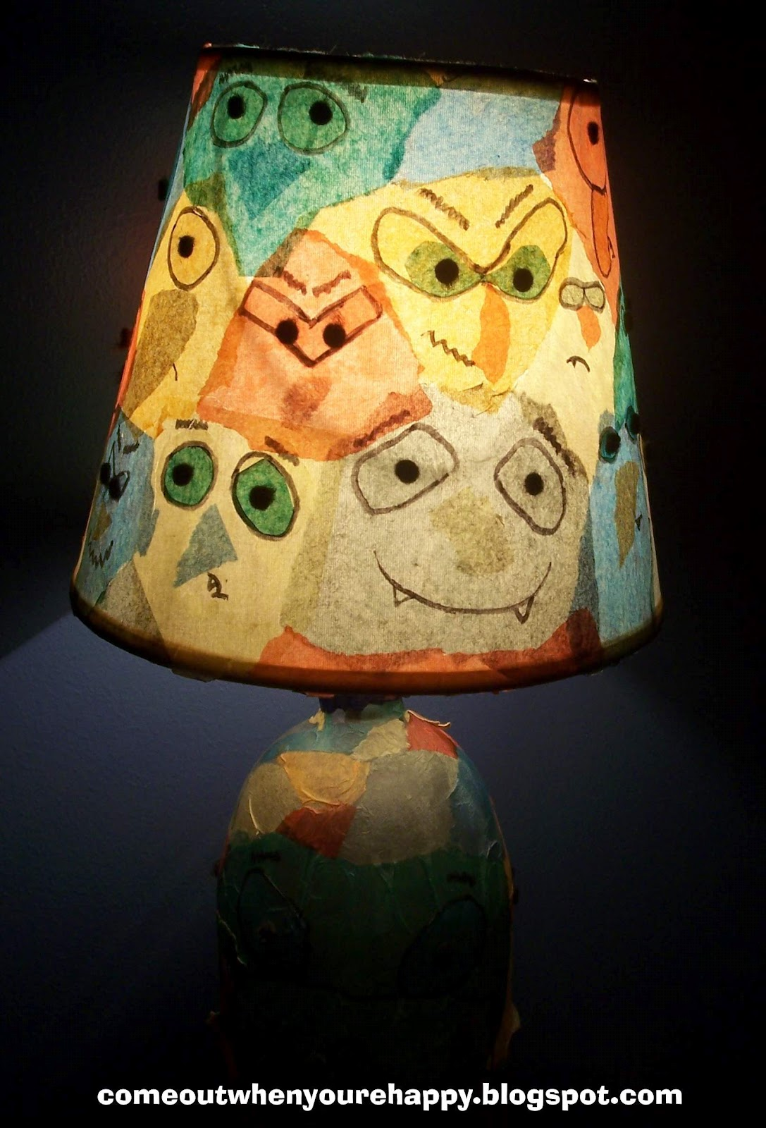 Come Out When Youre Happy Kid Crafts Easter Luminaries