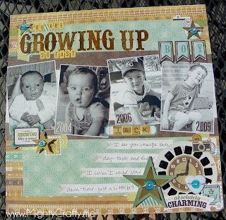 Boys Rule kit club May 2012 sketch layout - www.MightyCrafty.me