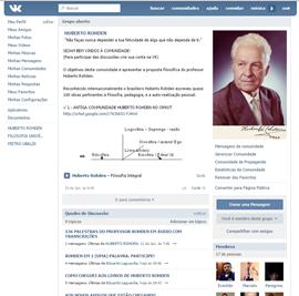 PALESTRAS: Comunidade Huberto Rohden