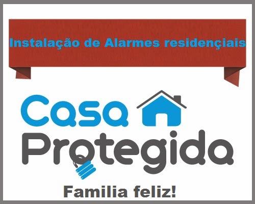 Venda e instalação de alarmes residenciais