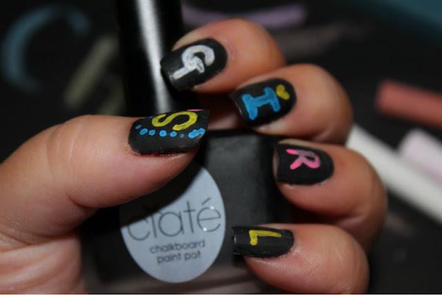 The Ciate Chalkboard Manicure