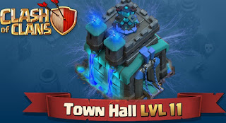 Town Hall 11 Akan Segera Dirilis, Semakin Seru !!!