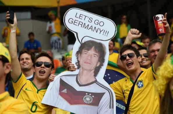 Mick Jagger, Brazil, World Cup