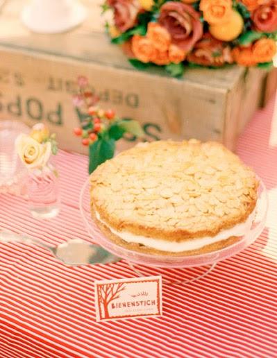 Cake Ink.: Recipe for Bienenstich (bee sting cake)