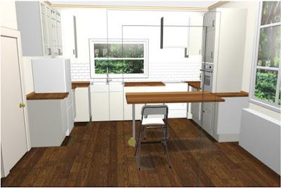 Reportage transformation cuisine Ikea Planner 3D