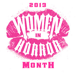 I AM PROUD TO BE A WOMEN IN HORROR MONTH AMBASSADOR