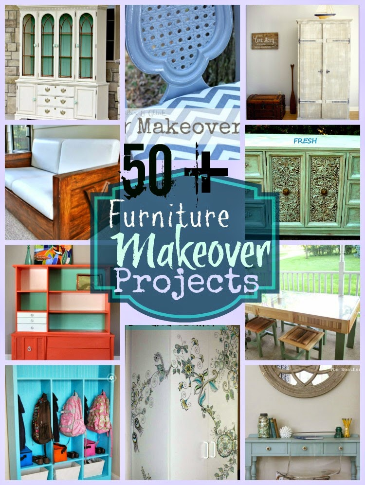 50+ Furniture Makeover Projects