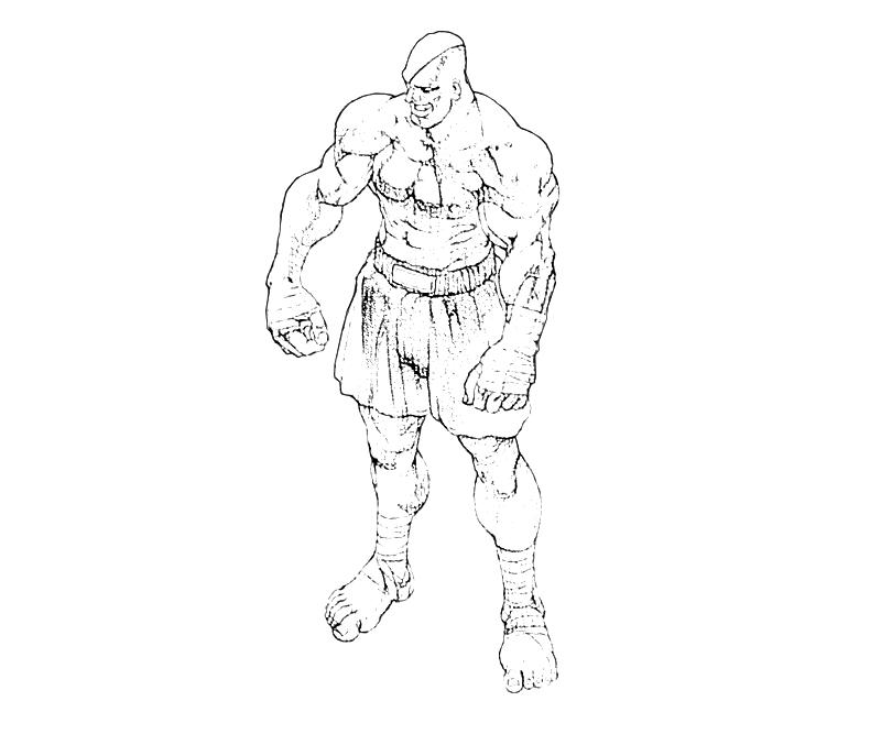 street-fighter-sagat-abilities-coloring-pages
