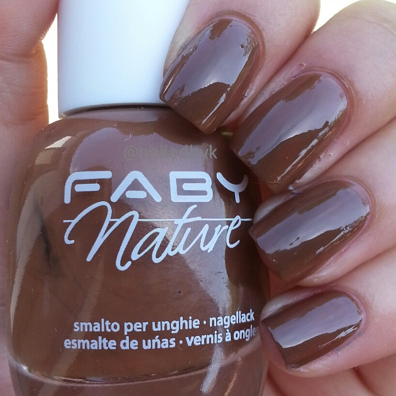 Faby Nature Collection - Swatch and Review | Nailed by Kim