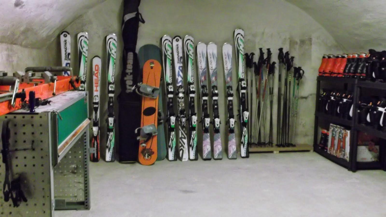 Ski-Verleih in Hotel