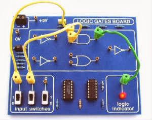 Logic Gates Board (www.isawwalanka.com)