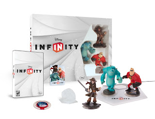 Disney Infinity starter pack abierto