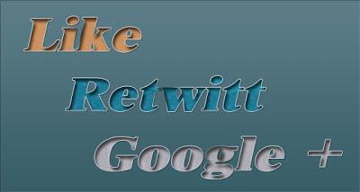 Как добавить кнопки Like и Retwitt в Blogger