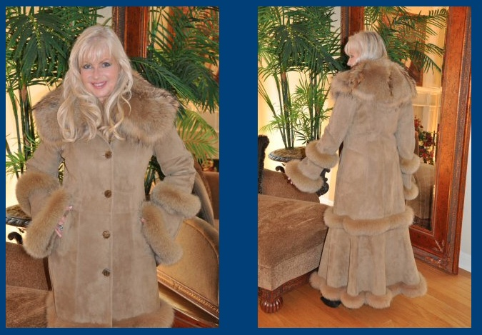 Spanish Merino Shearling Coat | Down Coat