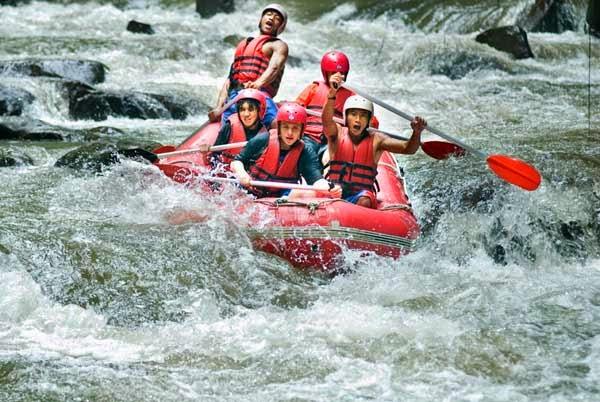 Arung Jeram Sungai Ayung, arung jeram, sungai ayung bali, wisata air ...