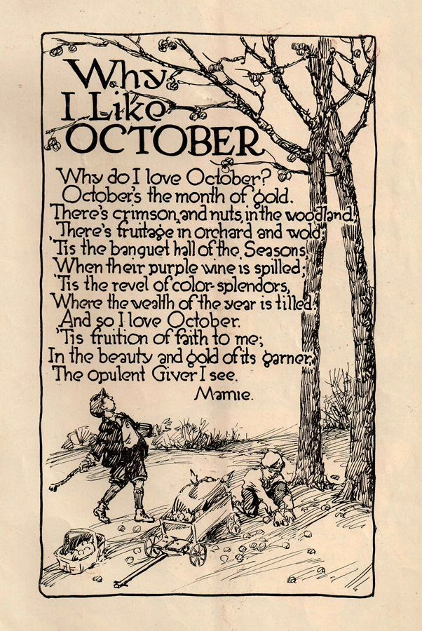 Quotes About October. QuotesGram