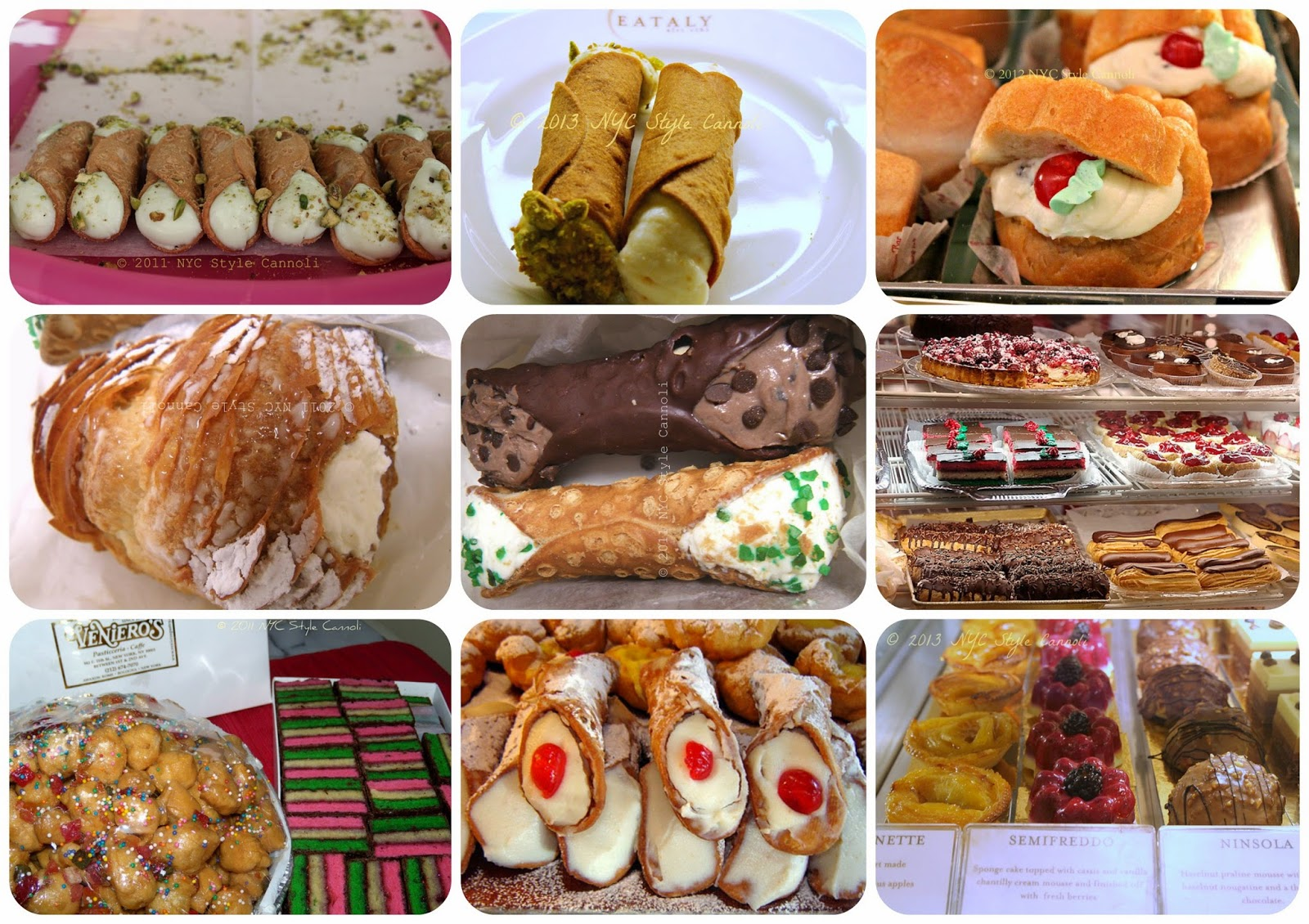 The 10 Best Italian Bakeries in New York City NYC, Style & a little Cannoli