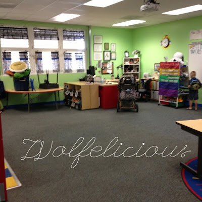 photo of before classroom