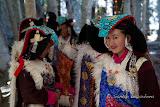 Perak, a traditional headdress of the Ladakhi women