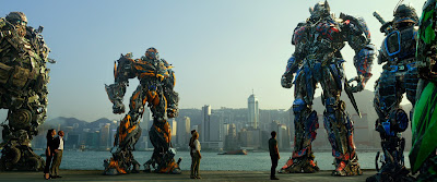 Image of Autobots in Transformers Age of Extinction
