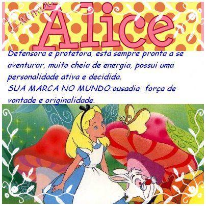 Alicepresente De Deus