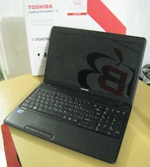 jual laptop seken toshiba satellite c660