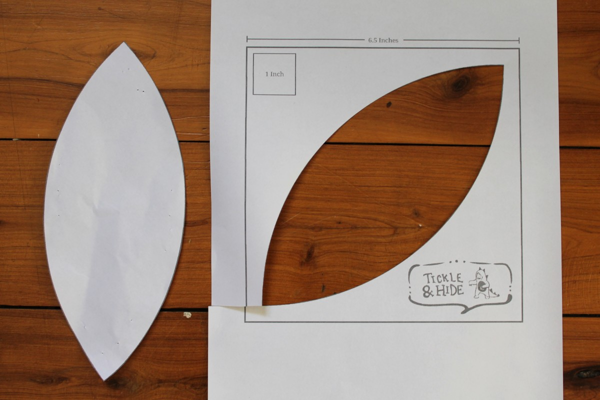 tales of cloth apple leaf block a template and tutorial