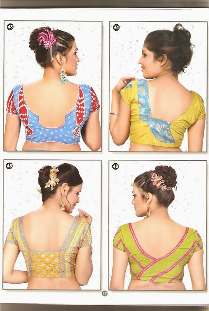 Latest Blouse Back Neck Designs Picture Beautifull And