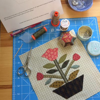 BOM - Frienship Garden (Mystery Quilt)