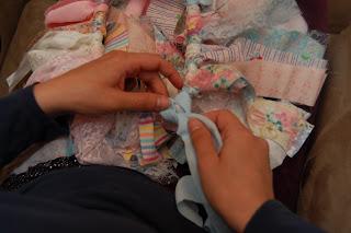 easy scrap fabric tutu