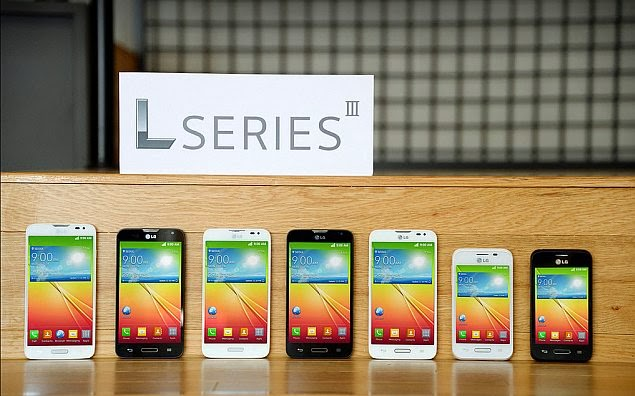 LG unveils trio of L Series III smartphones with Android 4.4 KitKat