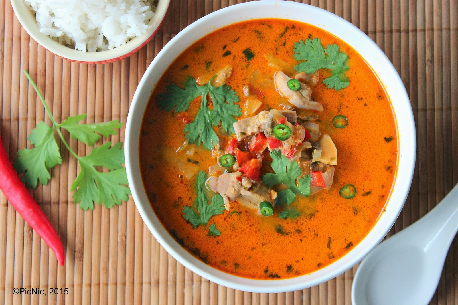 This Thai Red Curry brings the delightful flavors of South East Asian ...