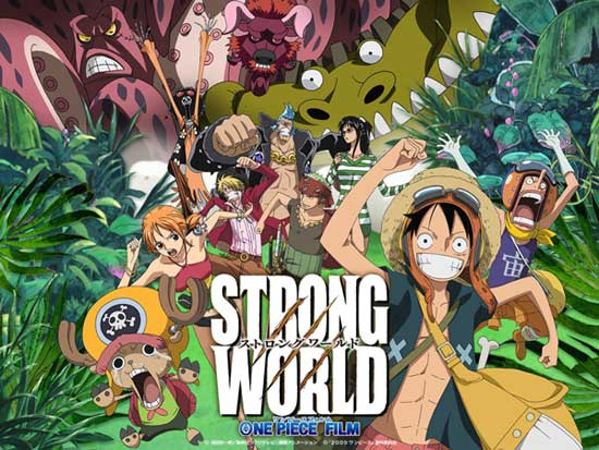One Piece pelicula 10 Strong World sub Español Descargar - Ver online