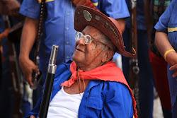 Seu Bacha, patrimônio vivo da Sociedade dos Bacamarteiros do Cabo