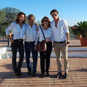 MANOLI, ARANCHA, FINITO Y CUEVAS