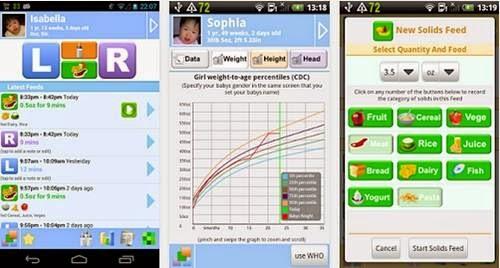 Aplikasi android merawat bayi