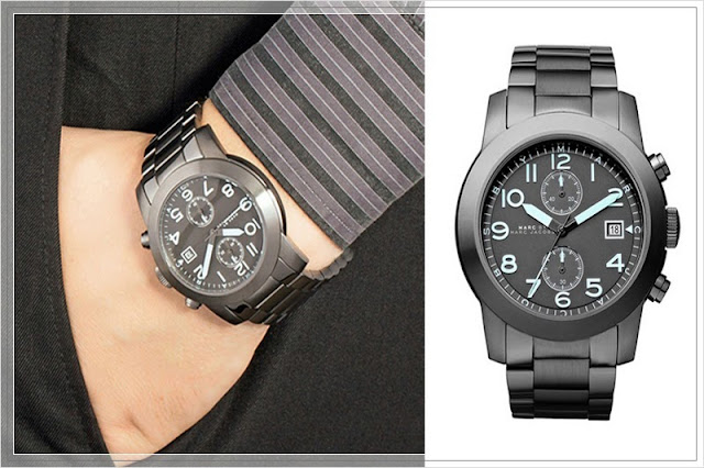 Watches For Men - Marc Jacobs Larry Chronograph