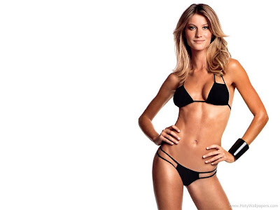 Gisele Bundchen Hollywood Actress Glamorous Wallpaper