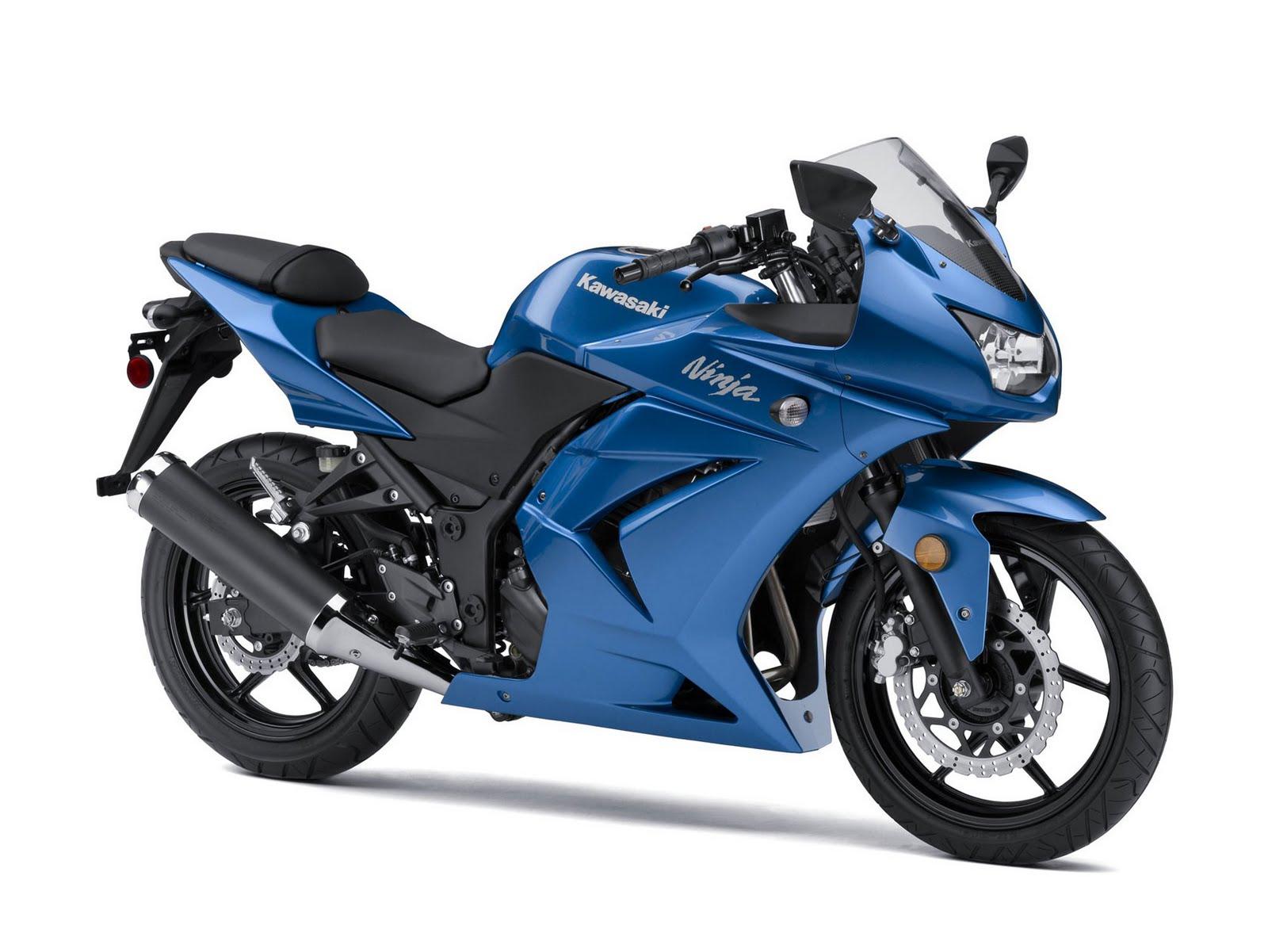 bikes wallpapers kawasaki ninja blue