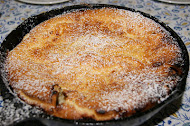German Plum Pancake