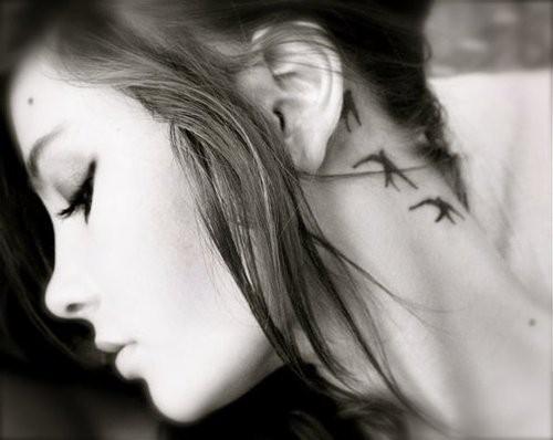 Tatouage sur le Cou - tatouage au cou pour homme