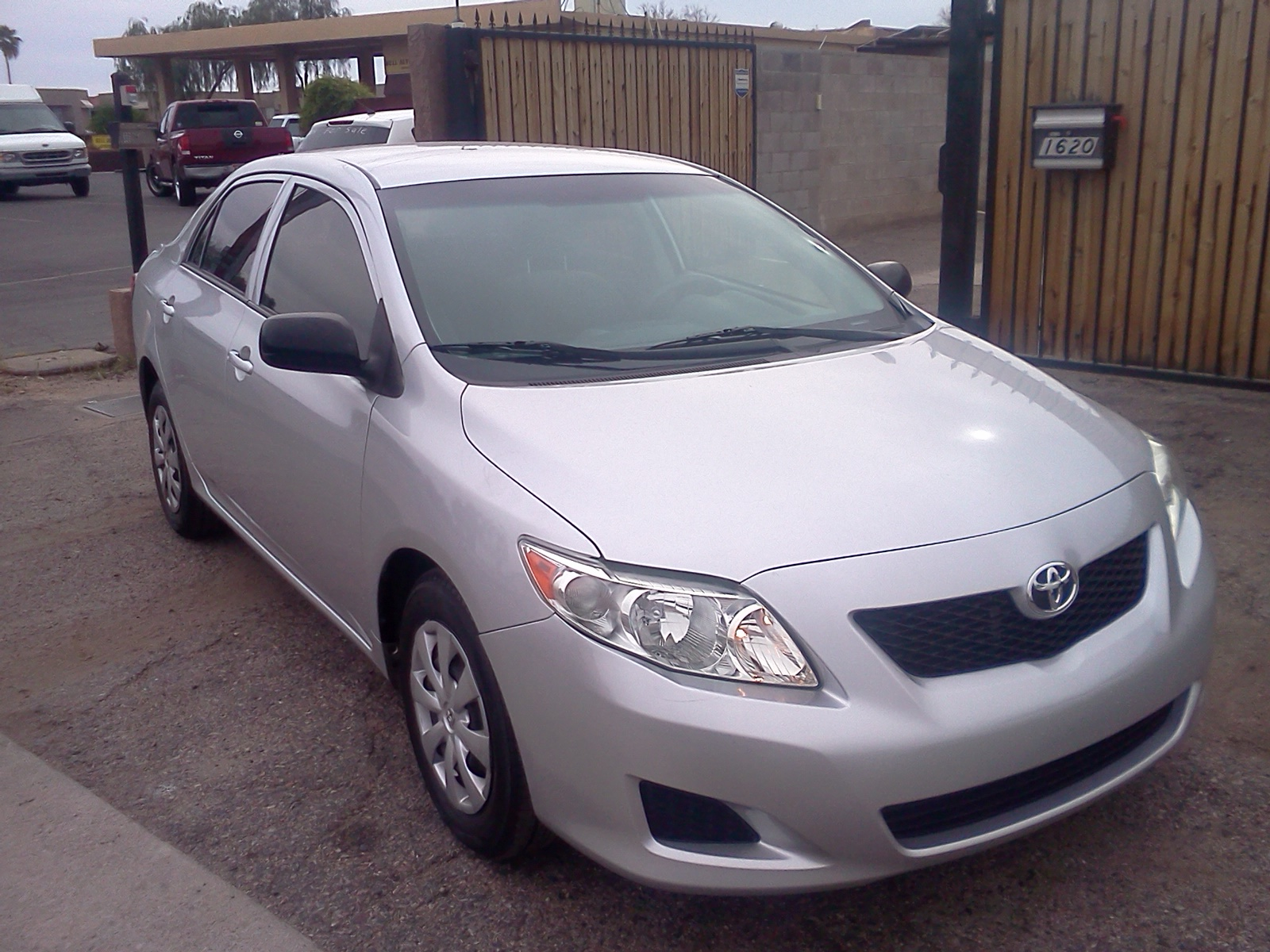 Very Nice Silver Colored 2010 Toyota Corolla Base Automatic. The Car Looks  Great Inside And Out And Is Mechanically Perfect.