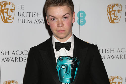 Will Poulter EE BAFTA Rising Star Winner