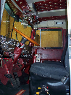1981 Kenworth W-900A Aerodyne Interior Jax Wax Customer