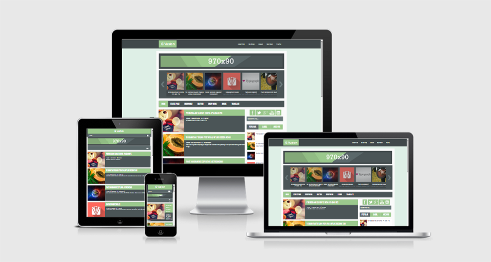 G Vusion Responsive Template