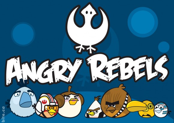 Angry birds x star wars: angry rebels vs imperial pigs